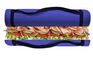 yoga-mat-sandwich