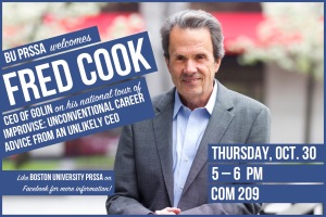 NEW WITH ROOM CHANGE! PRSSA - Fred Cook Flyer